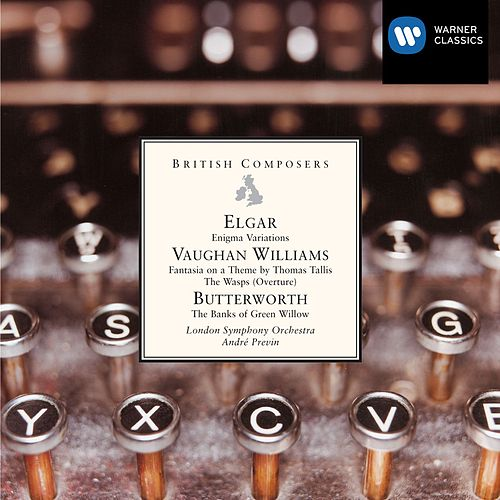 Elgar - Vaughan Williams - Butterworth by Andre Previn