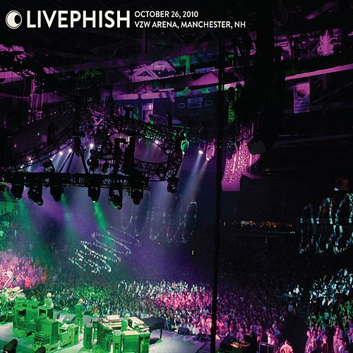 Live Phish: 10/26/10 Verizon Wireless Arena, Manchester, NH von Phish