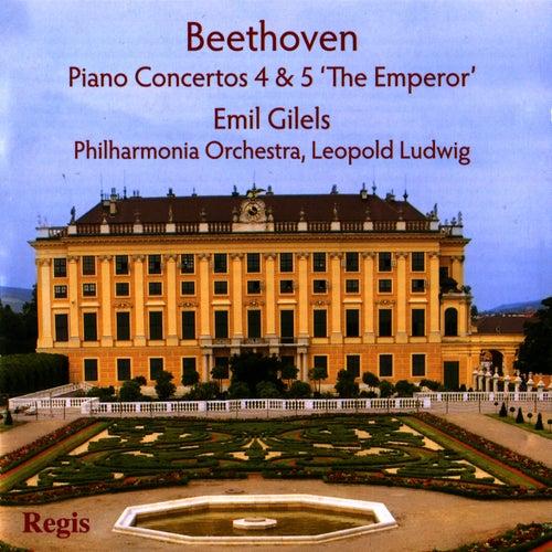 Beethoven: Piano Concertos 4 & 5 'The Emperor' by Philharmonia Orchestra
