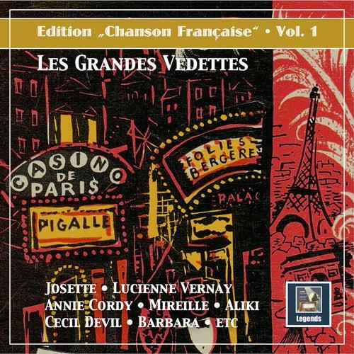 Edition Chanson française, Vol. 1: Les grandes vedettes (Remastered 2020) von Various Artists