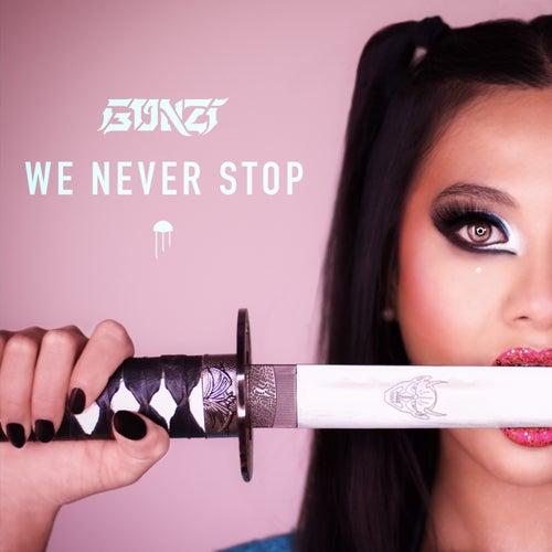 We Never Stop de Gonzi