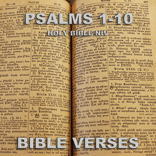 Holy Bible Niv Psalms 1-10 by Bible Verses