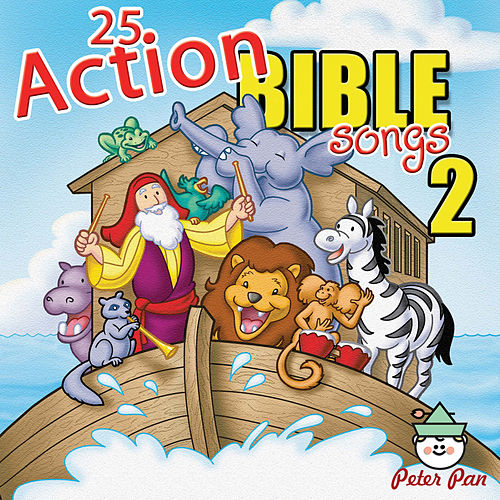 25 Action Bible Songs 2 by Nashville Kids' Sound