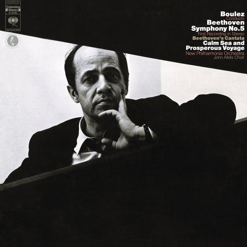 Beethoven: Symphony No. 5 in C Minor, Op. 67 & Meeresstille und glückliche Fahrt, Op. 112 - Mahler: Symphony No. 10 de Pierre Boulez
