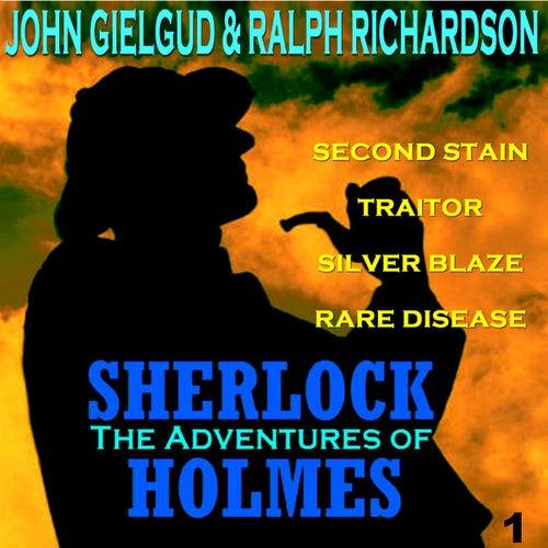 The Adventures of Sherlock Holmes Vol. 1 by John Gielgud