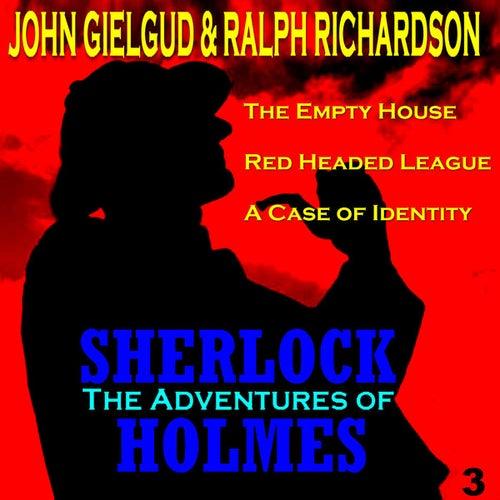 The Adventures of Sherlock Holmes Vol. 3 by John Gielgud