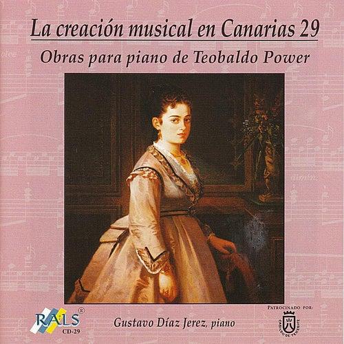 Teobaldo Power: works for piano de Gustavo Díaz Jerez