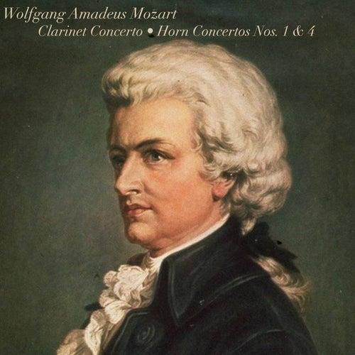 Mozart: Clarinet Concerto/Horn Concertos Nos. 1 & 4 de Orpheus Chamber Orchestra