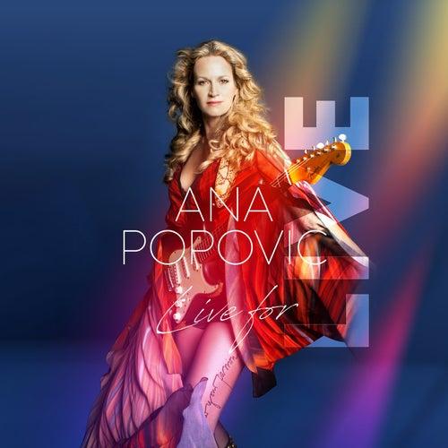 Live for Live de Ana Popovic