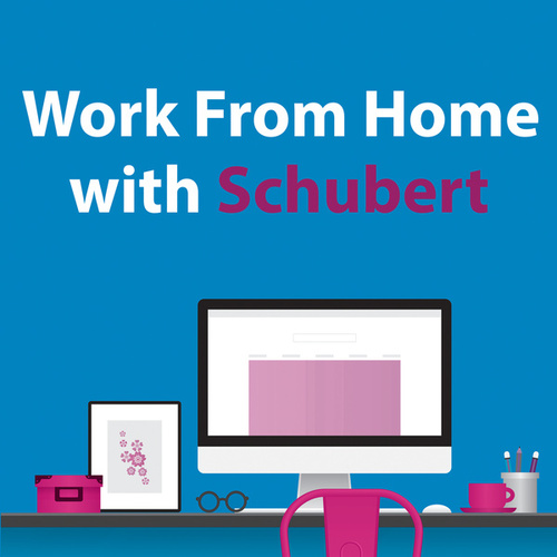 Work From Home With Schubert by Franz Schubert
