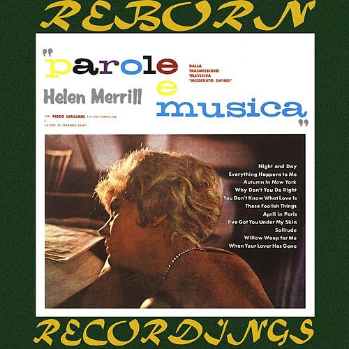 Parole e Musica (HD Remastered) von Helen Merrill