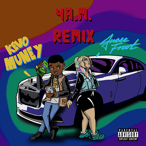 4am (Remix) [feat. Jucee Froot] by Kevo Muney
