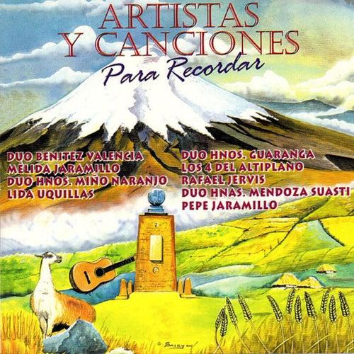 Artistas y Canciones para Recordar de German Garcia