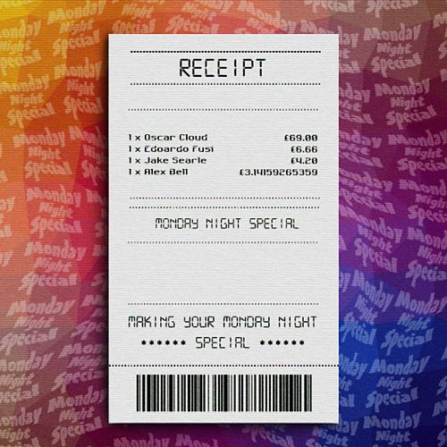 Receipt by Monday Night Special