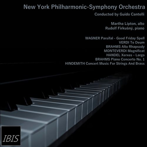 Wagner, Verdi, Brahms, Monteverdi, Handel, Hindemith conducted by Guido Cantelli by New York Philharmonic