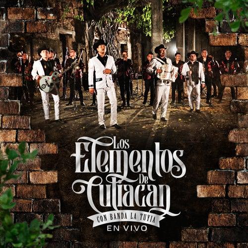 Con Banda La Tuyia  (En Vivo) [feat. Banda Sinaloense La Tuyia De Culiacan Sinaloa] by Los Elementos de Culiacan