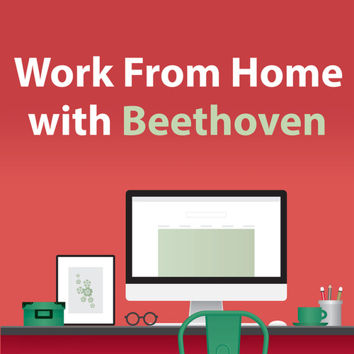 Work From Home With Beethoven by Ludwig van Beethoven