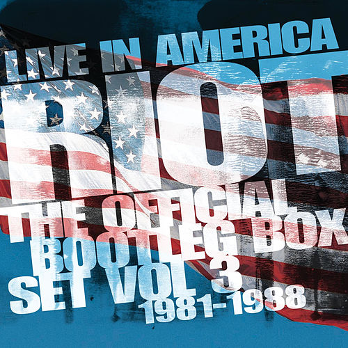 Live In America: The Official Bootleg Box Set, Vol. 3 (1981-1988) by Riot