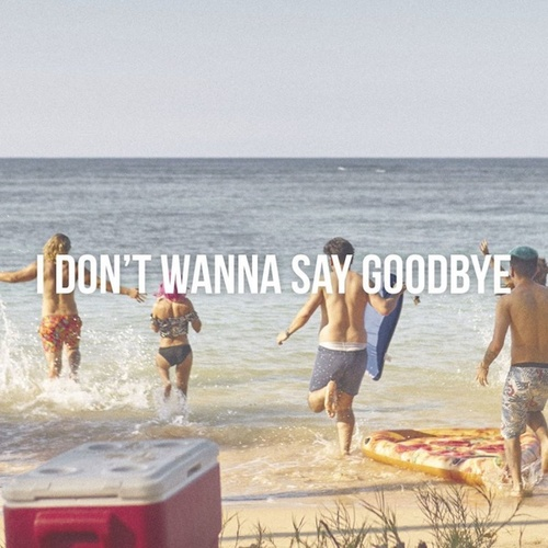 I Don't Wanna Say Goodbye by Max Vangeli