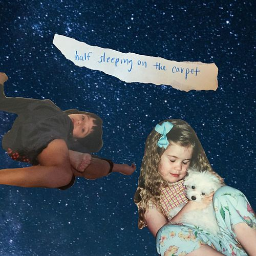 half sleeping on the carpet de Daisy the Great