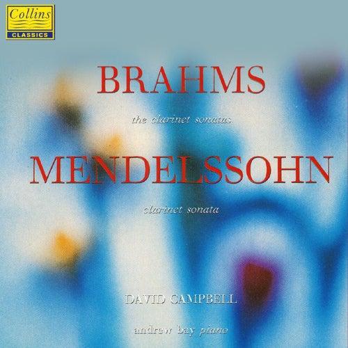 Brahms & Mendelssohn: Clarinet Sonatas von David Campbell