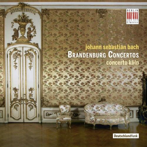 Bach: Brandenburg Concertos von Concerto Köln