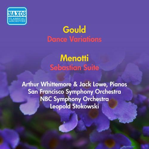Gould, M.: Dance Variations / Menotti, G.C.: Sebastian Suite (Stokowski) (1953, 1954) de Leopold Stokowski