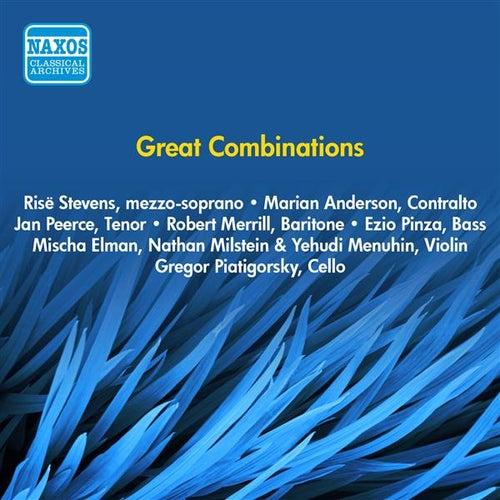 Great Combinations (1953) de Various Artists