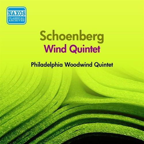 Schoenberg: Wind Quintet (Philadelphia Woodwind Quintet) (1957) by Philadelphia Woodwind Quintet