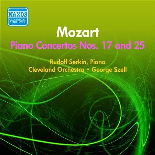 Mozart, W.A.: Piano Concertos Nos. 17, 25 (Serkin, Cleveland Orchestra, Stell) (1955) von Rudolf Serkin
