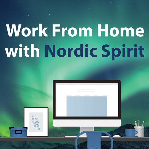 Work From Home With Nordic Spirit by Edvard Grieg