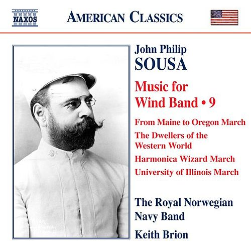 Sousa: Music for Wind Band, Vol. 9 de Keith Brion