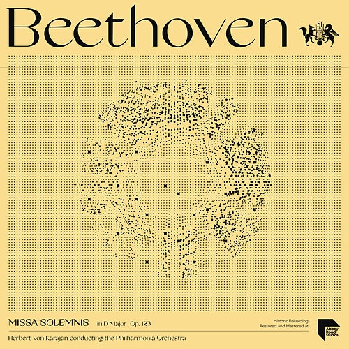 Beethoven: Missa Solemnis in D Major, Op. 123 by Herbert Von Karajan