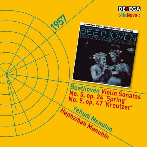 Beethoven: Violin Sonatas No. 5, Op.24 'Spring' & No. 9, Op. 47 'Kreutzer' de Yehudi Menuhin