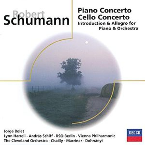 Schumann: Piano Concerto; Cello Concerto, etc. di Various Artists