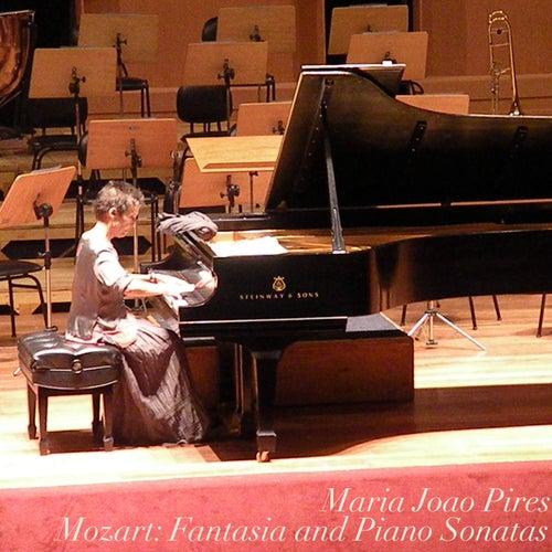 Mozart: Fantasia and Piano Sonatas by Maria Joao Pires
