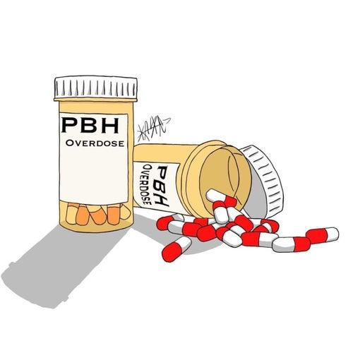 Overdose von Pbh