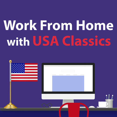 Work From Home With USA Classics by LAジャズ・トリオ