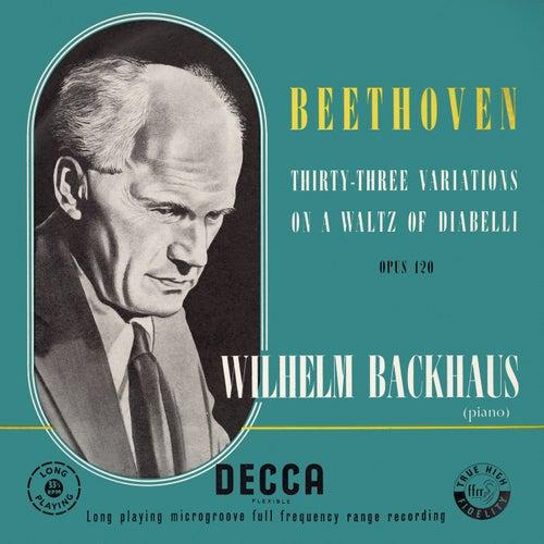Beethoven: Diabelli Variations by Wilhelm Backhaus