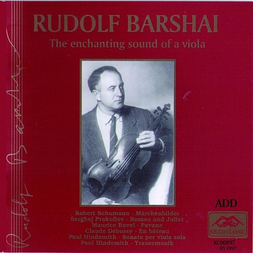 Rudolf Barshai : The Enchanting Sound of a Viola by Rudolf Barshai