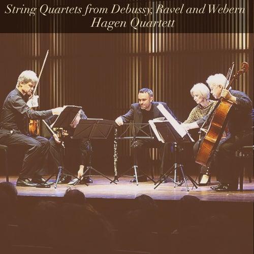 String Quartets from Debussy, Ravel and Webern by Hagen Quartett