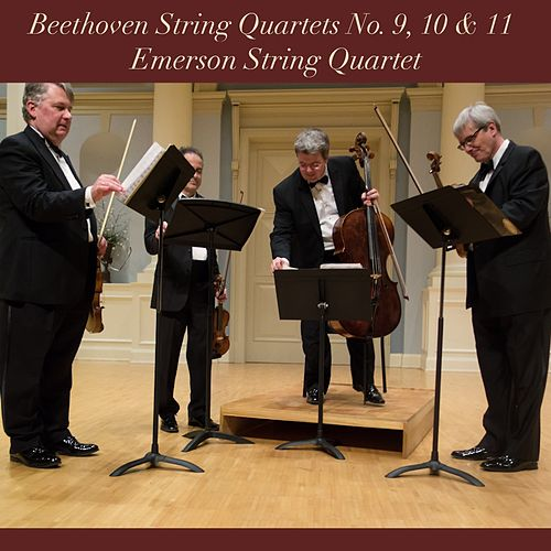Beethoven: String Quartets No. 9, 10 & 11 by Emerson String Quartet