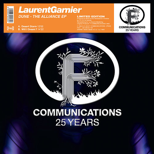 Dune The Alliance EP de Laurent Garnier