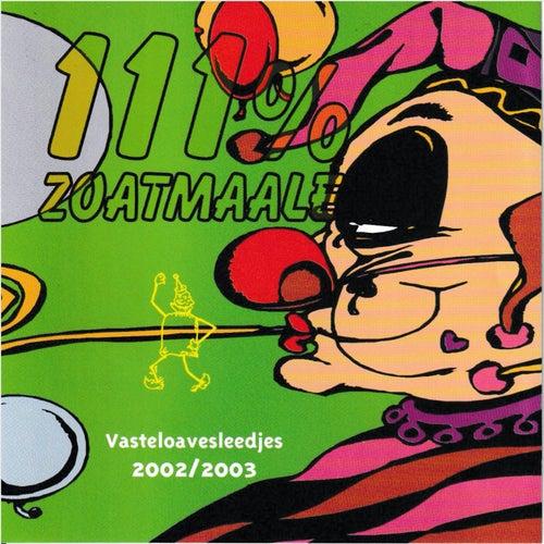 Zoatmaale 2003 111% Zoatmaale di Various Artists