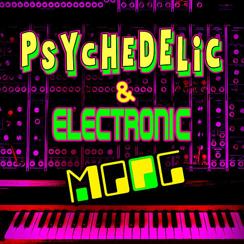 Psychedelic & Electronic Moog de Emil Richards