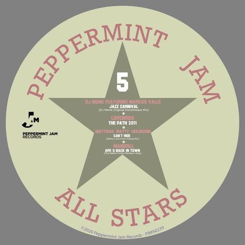 Peppermint Jam Allstars 5 de Various Artists