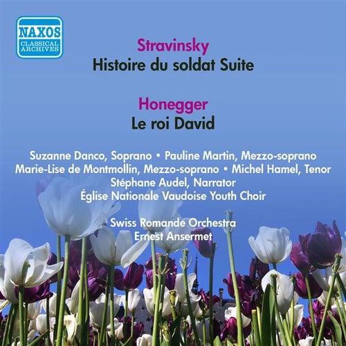 Honegger, A.: Roi David (Le) / Stravinsky, I.: Histoire Du Soldat Suite (Ansermet) (1956) von Various Artists