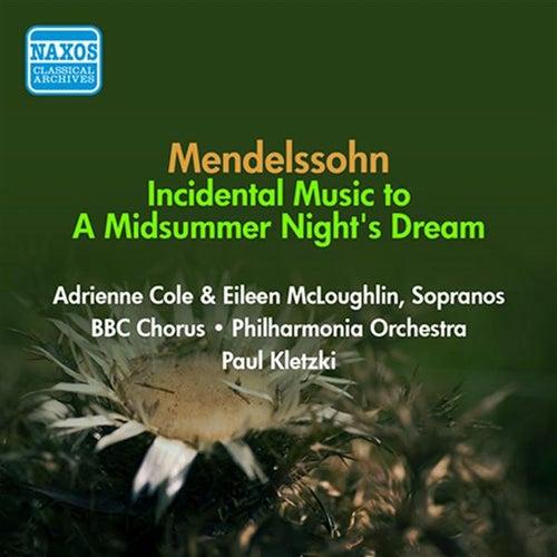 Mendelssohn, F: Midsummer Night's Dream (A) (Excerpts) (Kletzki) (1954) de Paul Kletzki