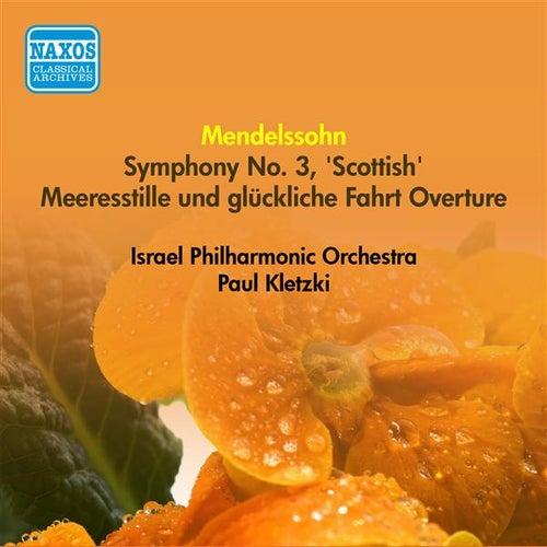 Mendelssohn, F.: Symphony No. 3,