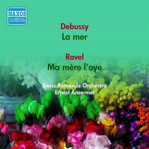 Debussy, C.: La Mer / Ravel, M.: Ma Mere L'Oye (Swiss Romande Orchestra, Ansermet) (1951) von Ernest Ansermet